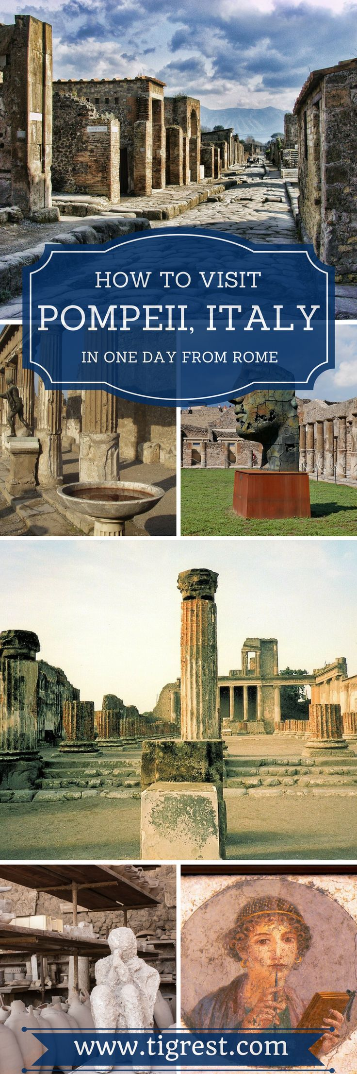 Tips for visiting Pompeii Italy - how to get there, things to do and see, where to eat, how to get tickets and much more!