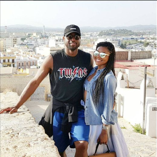 Gabrielle Union and Dwyane Wade - Cutest Celebrity Couple 'Baecation' Moments This Summer | Essence.com