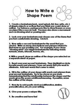 Poetry Worksheets Results