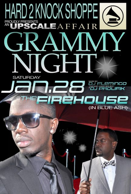 GRAMMY NIGHT SAT JAN 28th @Matty Chuah FIREHOUSE GRILL (Blue Ash) 10pm-3am – Hard 2 Knock Shoppe