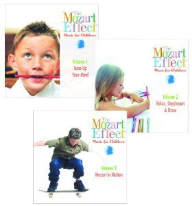 Mozart Effect Series - Set of 3 CD's by Mozart Effect. $39.99. The Mozart Effect Series includes Tune Up Your Mind, Relax, Daydream and Draw. Volume 2. Set of 3 CD's. UNSPSC/NIGP Education Reference Codes: 5511151200 / 78570000. Sold as a Single Unit. Save 25% Off!