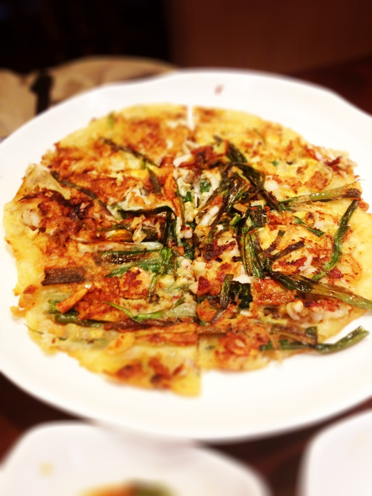 Seafood Pancake @ Seoulria