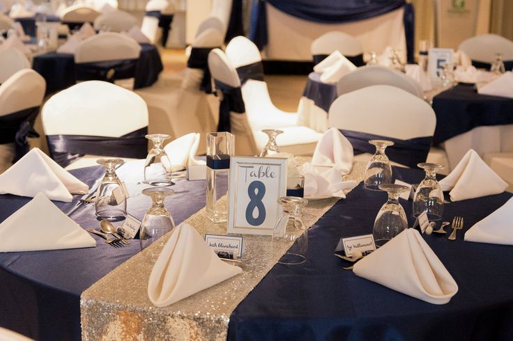Islandview Ballroom.  Decor by MT's Wedding Design and photo by Niche Photography. Holiday Inn Kingston Waterfront #ygk