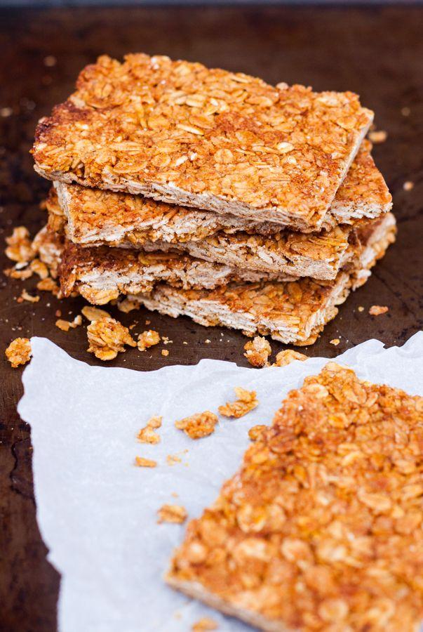 Barras De Avena Y Miel Saludables The Sweet Molcajete Receta Barras De Avena Barra De Cereal Casera Barras De Granola