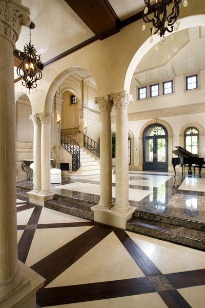 Italian style grandeur
