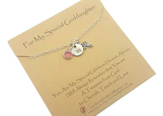 Gift For Goddaughter Birthstone Necklace Sterling By: 11 Best Christian Jewelry