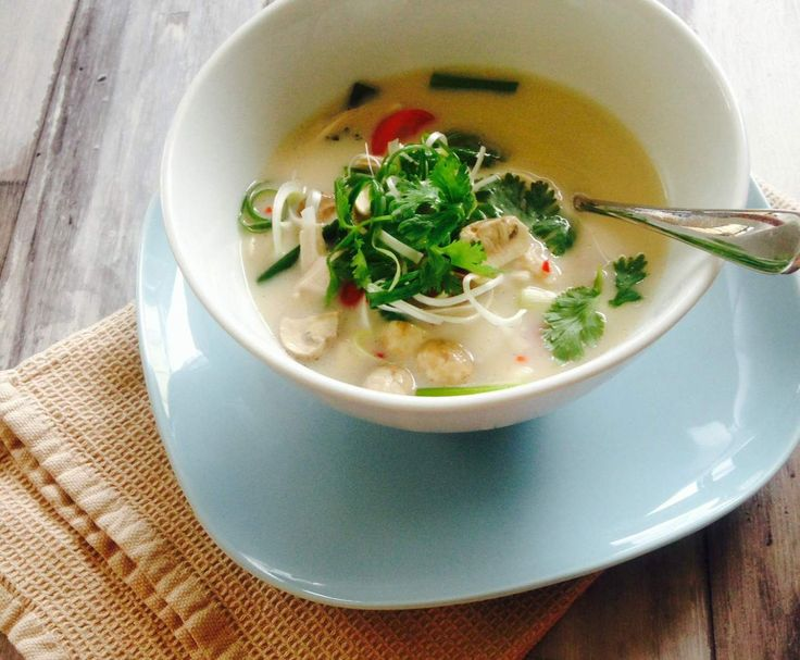 Recipe Tom Kha Gai - Thai Chicken Soup by Kitch'n Thyme - Recipe of category Soups