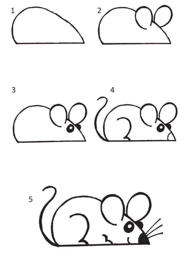 10 Cartoon Animal How To Drawings – Heller Handwer…