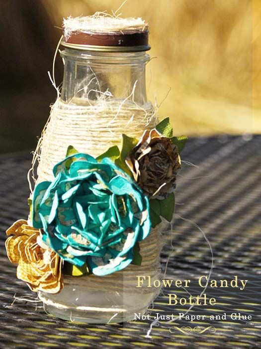 Sweet May Day Gift Idea from @Tammy Tarng @ Not Just Paper and Glue