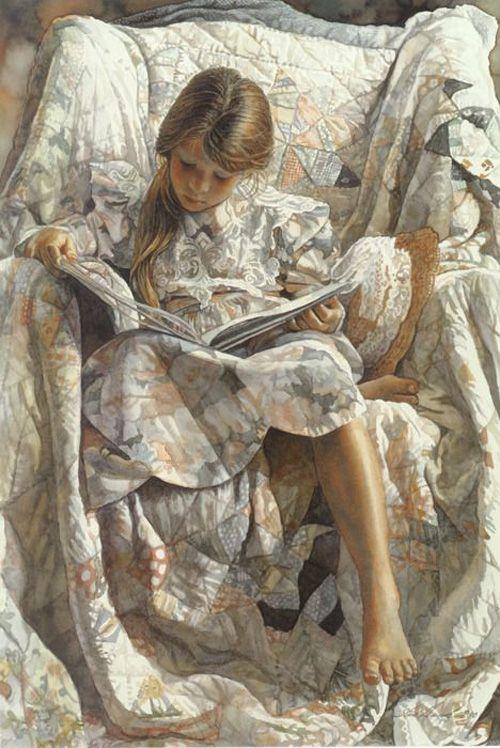 Гостевой пост Маленького Миу для Блоги Мам   Иллюстраторы мира о любви к чтению   Стив Хэнкс