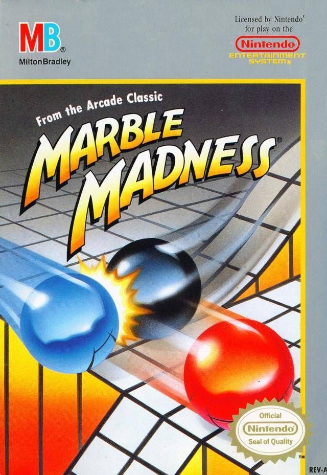 Marble Madness NES:  Perhaps the most frustrating game ever created.