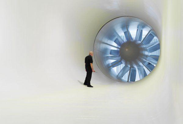 McLaren Technology Centre – wind tunnel