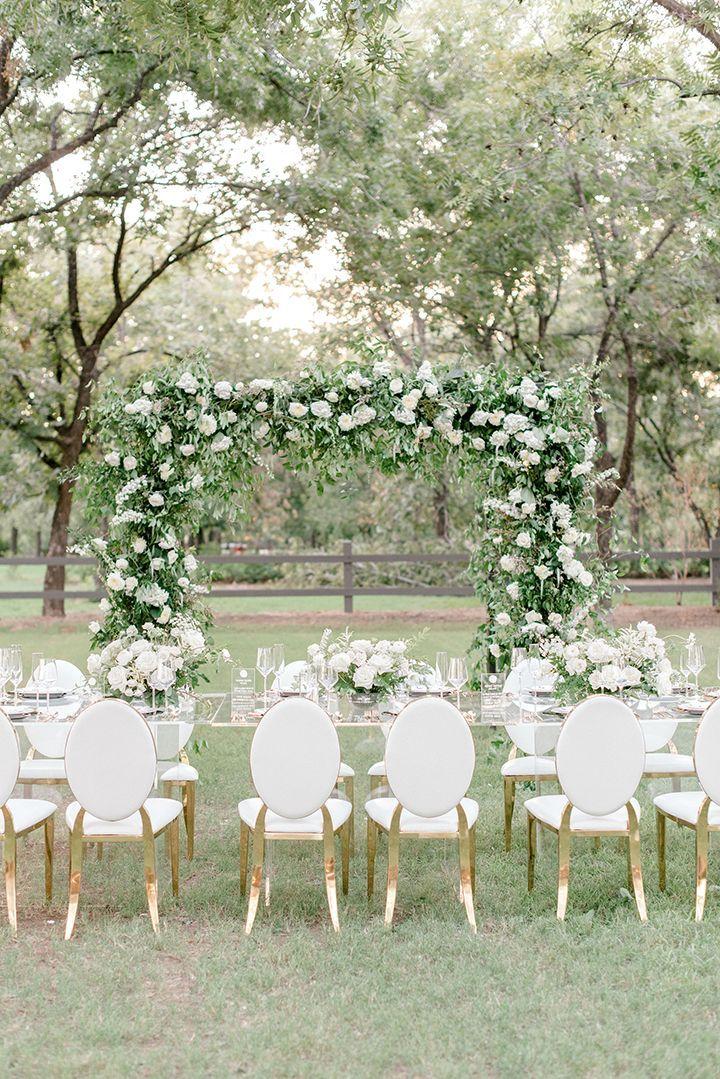 aba5fc585eb Black Tie Garden Wedding Inspiration at Venue at the Grove in Phoenix
