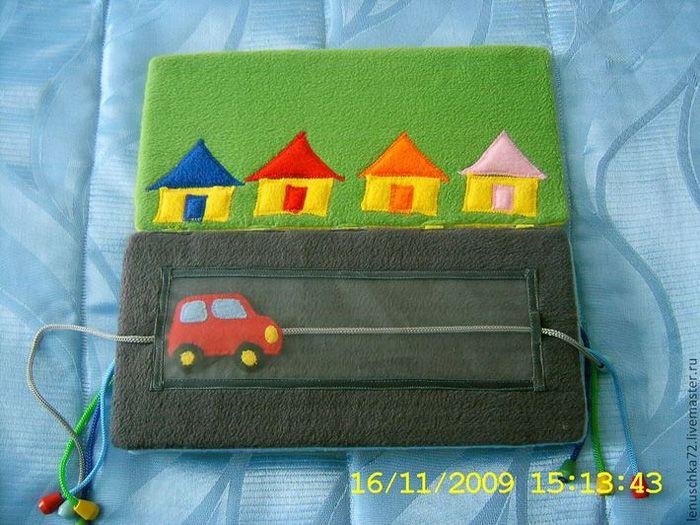 Книги из ткани для малышей
