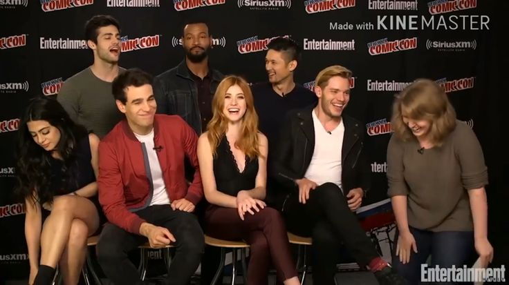 Shadowhunters Cast 2016 Comic Con interview
