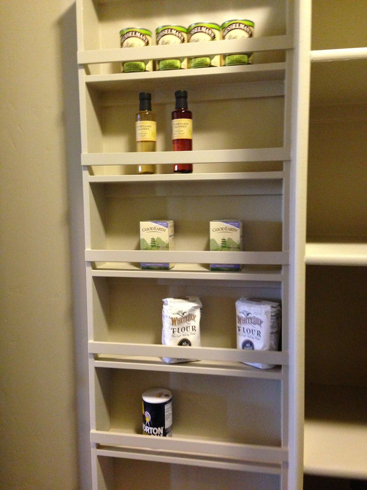 Kitchen Pantry Storage Bar Tables Shallow Shelving | Helms Home Pinterest Shallow, Wall ...