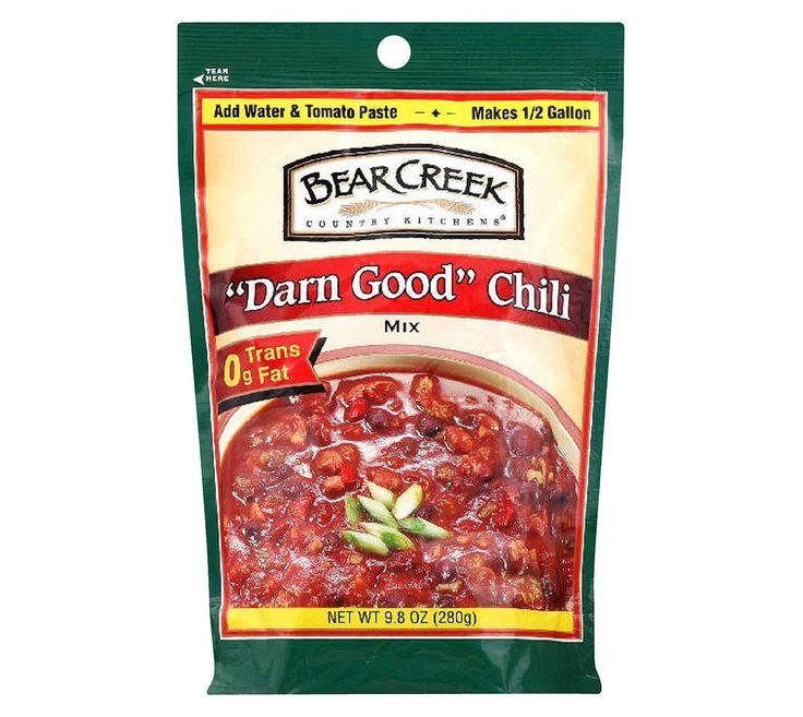 Bear creek country kitchens darn good chili mix 98 oz