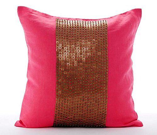 Luxury Coral Decorative Pillow Cover, Modern Decorative P... https://www.amazon.com/dp/B016H8YXGK/ref=cm_sw_r_pi_dp_x_oTCazbNFTN2WM