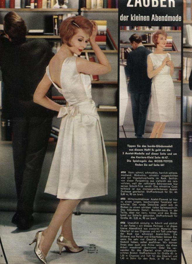 1960 White Dress
