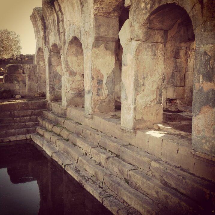 Roman baths - Fordongianus - Sardinia (Italy). Terme romane di Fordongianus (or), Sardegna. Info www.forumtraiani.it