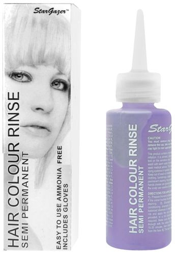 coloration stargazer white teinture blanche cheveux semi permanente pour une coiffure - Coloration Cheveux Semi Permanente