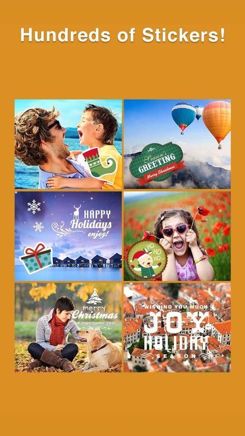Editor Fotos+Montagem Colagem - screenshot