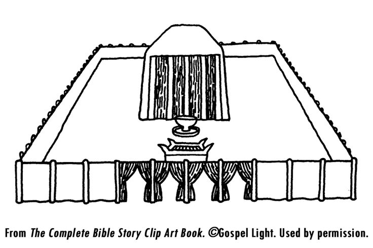 Tabernacle teaching resources found temple page on for Tabernacle coloring pages free