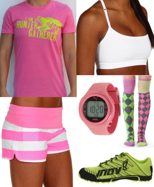 Crossfit Outfit-pink