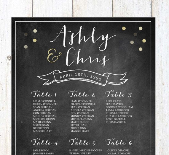 90 best Wedding Escort \/ Place cards, Seating Charts and Printable - printable seating charts