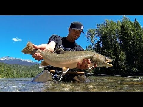Fly Fishing for Bull Trout in Northern BC with Loop Fly Fishing Tackle. Loop Canada Prostaff Bryce Lamont
