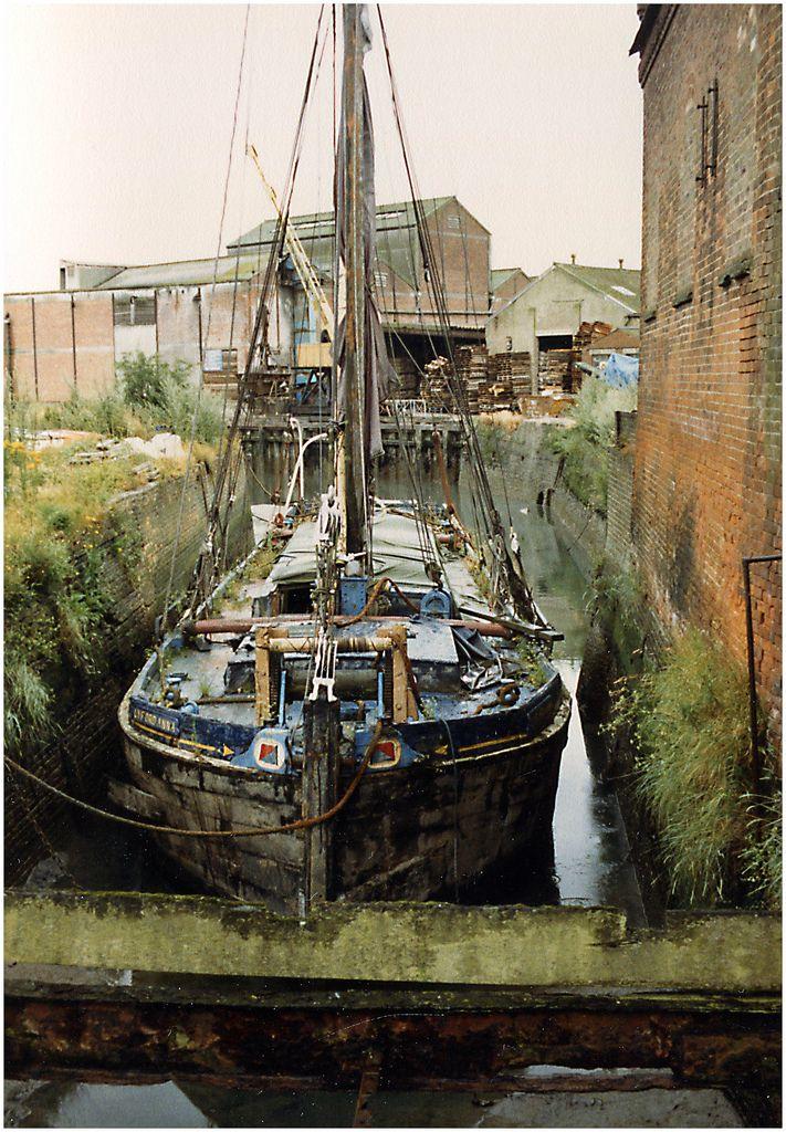 Thames Sailing Barges  SB Lyford Anna  by  Bill Martin