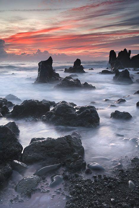 El Golfo, Lanzarote - Canary Islands... practically mythical looking!!
