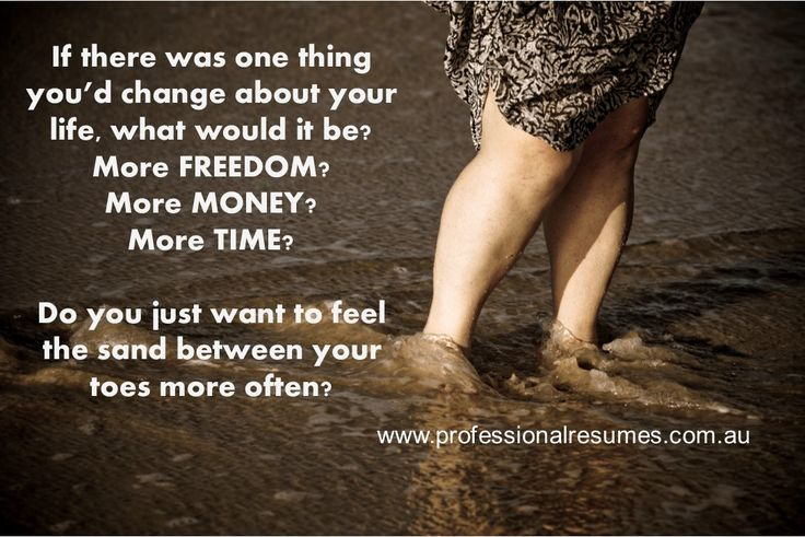 Being a FREEDOMpreneur - sand