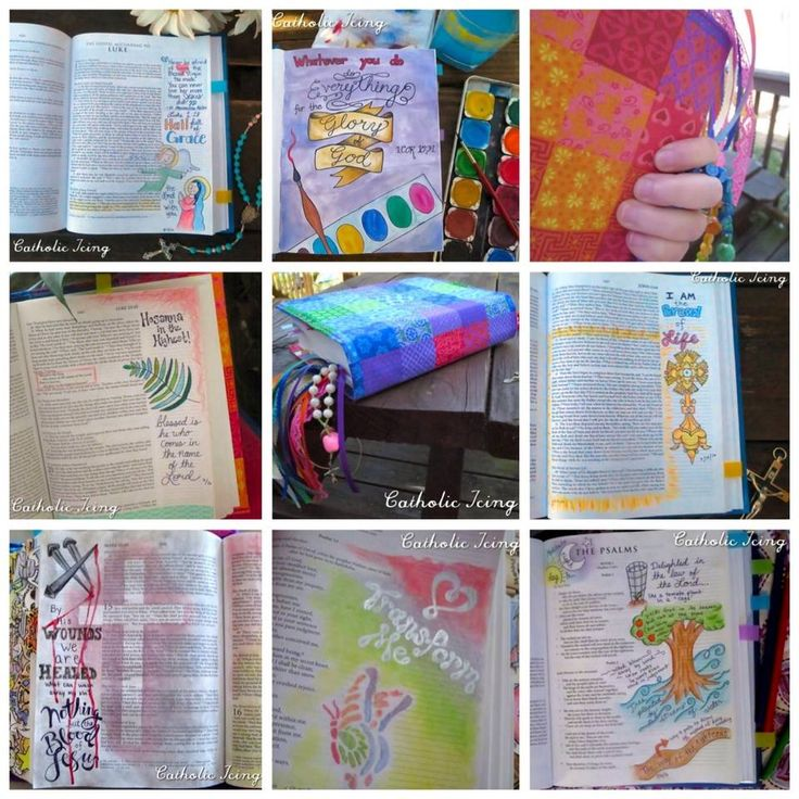 Bible Journaling For Catholics- FINALLY An Affordable Catholic...