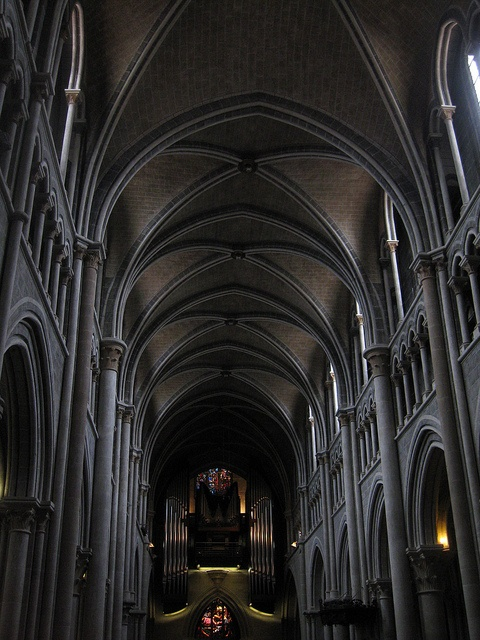 Lausanne Cathedral in Switzerland; photo by Bethany Madsen