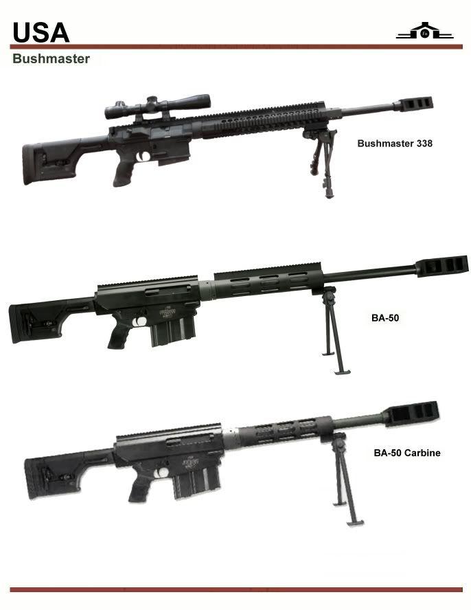 Bushmaster Sniper Series