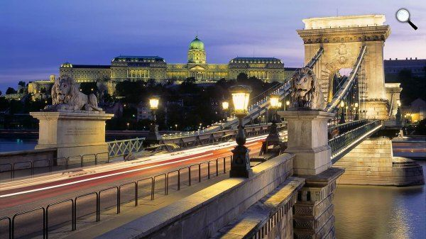 Lánchíd, Budai Vár, Budapest (Fotó: Pixabay)