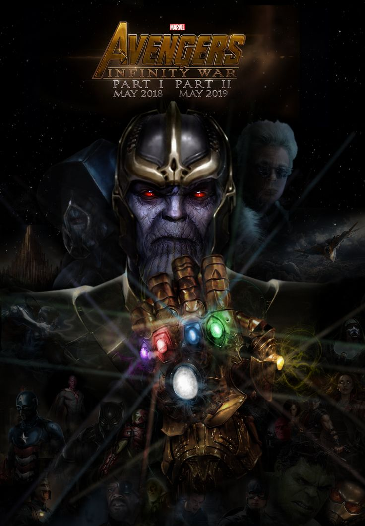 Avengers 3 Infinity War Fan Made Poster By