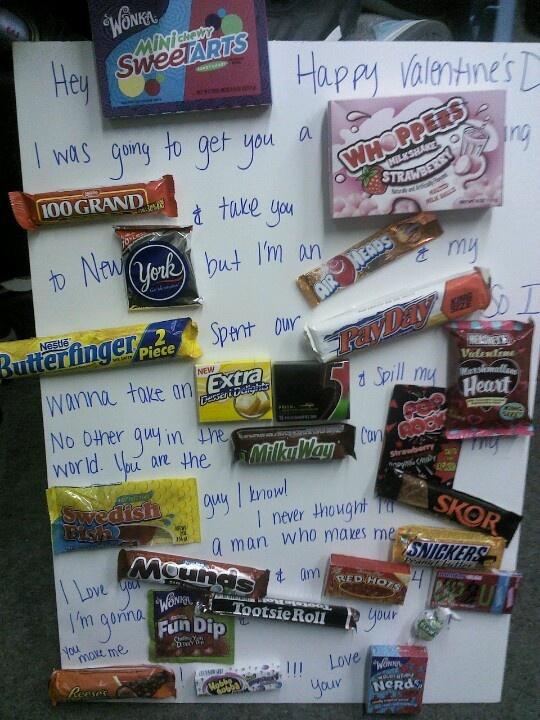 Candy card I made!!!