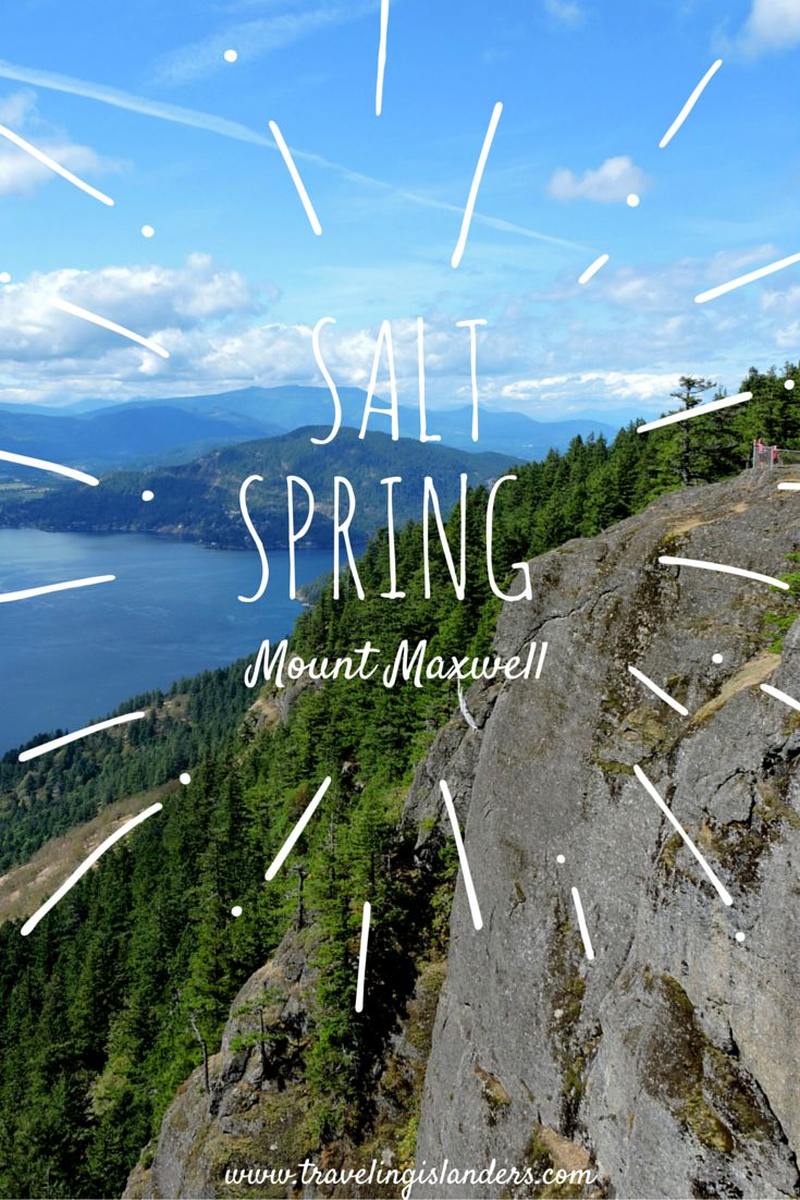 Salt Spring, BC. Panoramic views of the Gulf Islands and Vancouver Island! Breathtaking. #explorebc
