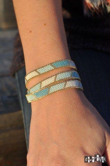 Voici le bracelet DIY que j'ai réalisé pour mon mariage. Quelque chose de simple, discret, classe et surtout rapide à faire.