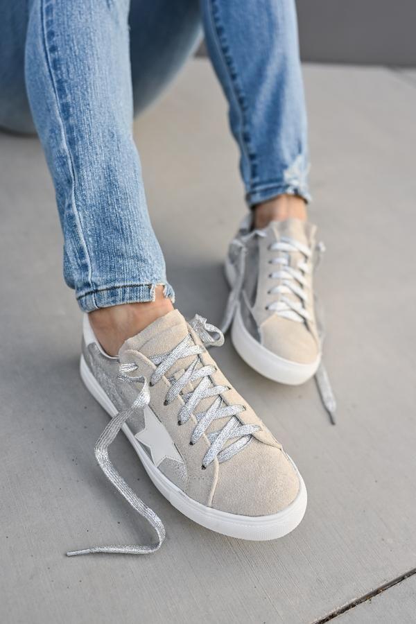 You're A Rockstar Sneakers - Silver