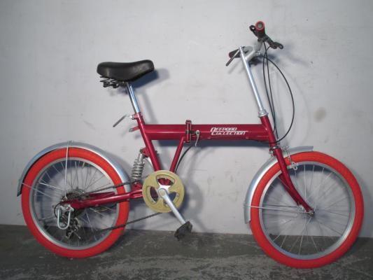 Klapprad Faltrad 20 Zoll Fahrrad Shimano 6 #1204A