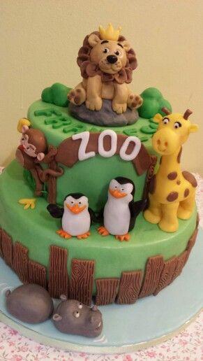 Torta zoo