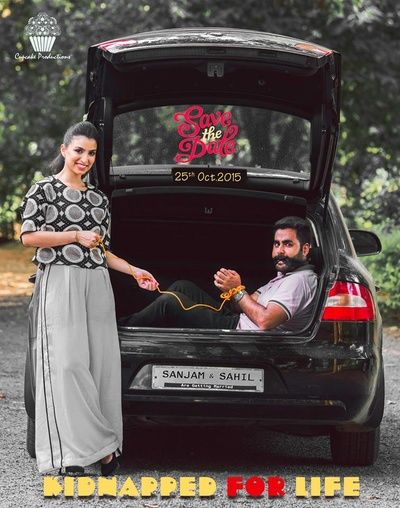 Save the date | Quirky wedding poster ideas #uniqueideas #indianbride #wedmegood