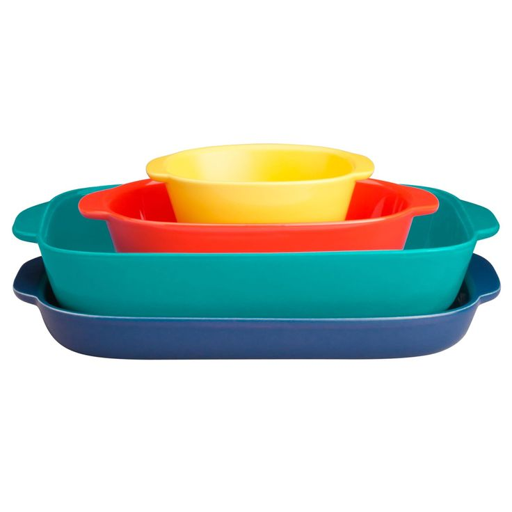CW by CorningWare™ 4-pc Bakeware Set