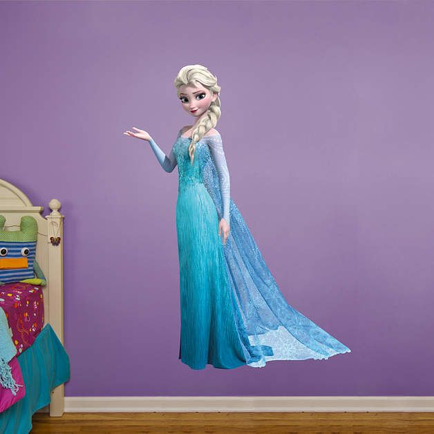 Snow Queen Elsa. Disney Frozen BedroomFrozen RoomFrozen Wall ... Part 88