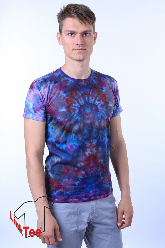 Galaxy Kaleidoscope Tie Dye Shirt Psychedelic Trippy by LinkTee