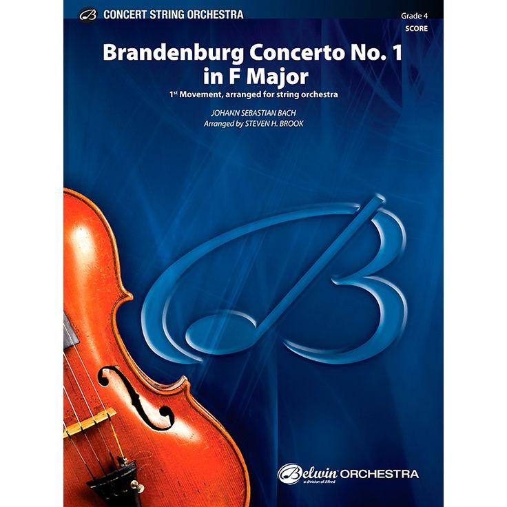 Alfred Brandenburg Concerto No. 1 in F Major Concert String Orchestra