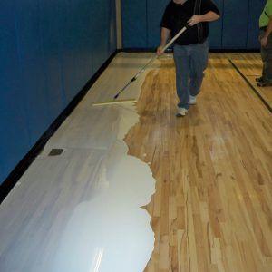 Gym Seal Hardwood Floors